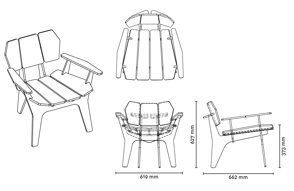 Beautiful PLYWOOD CHAIRS Design Inspirations